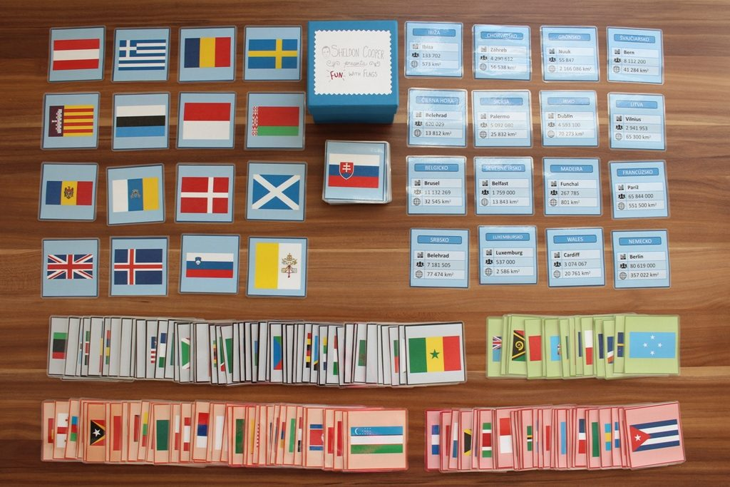 Hra vlajky La Florita