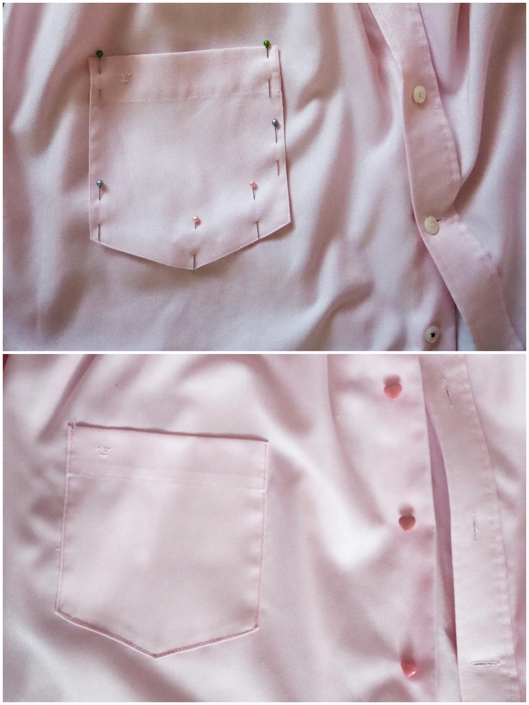 96631f479a0a ♥ Udržateľná móda   Šaty z košele